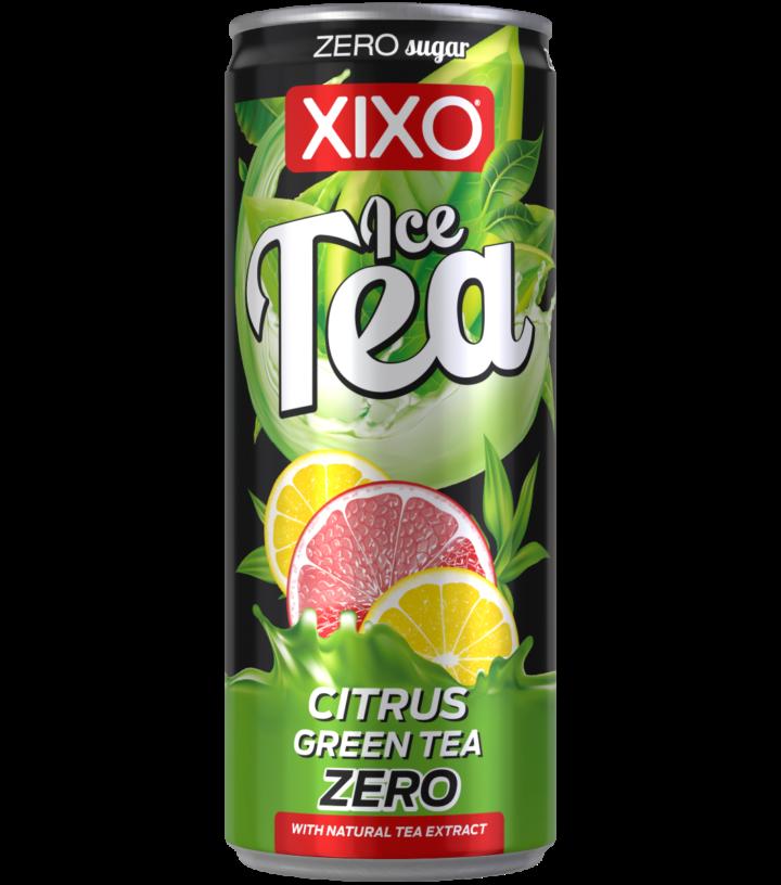 XIXO ICE TEA CITRUS GREEN ZERO 0,25L
