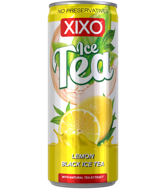 XIXO ICE TEA LEMON 0,25L
