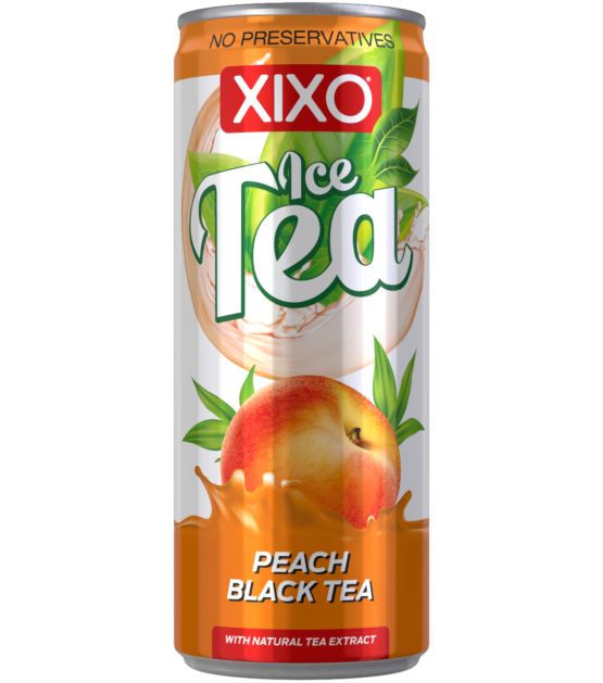 XIXO ICE TEA PEACH 0,25L