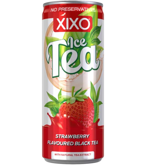 XIXO ICE TEA STRAWBERRY 0,25L