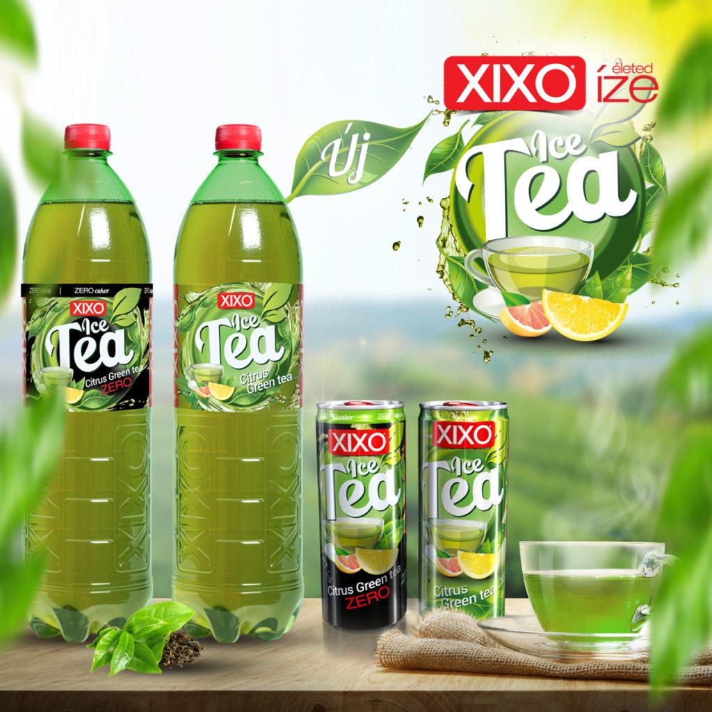 Frissítő újdonsággal köszönti a tavaszt a XIXO – itt a XIXO Citrus Green tea és cukormentes változata