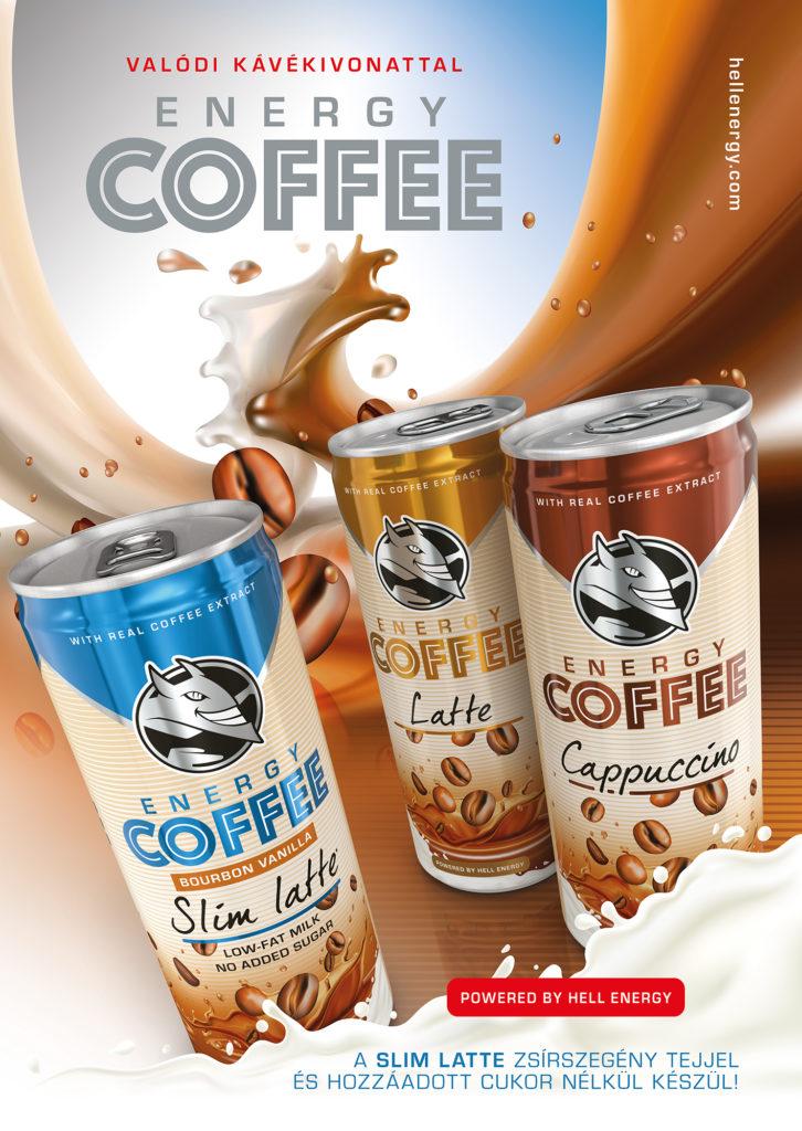 Megérkezett a tejes italok új generációja! Ez nem kávé, ez Energy Coffee!