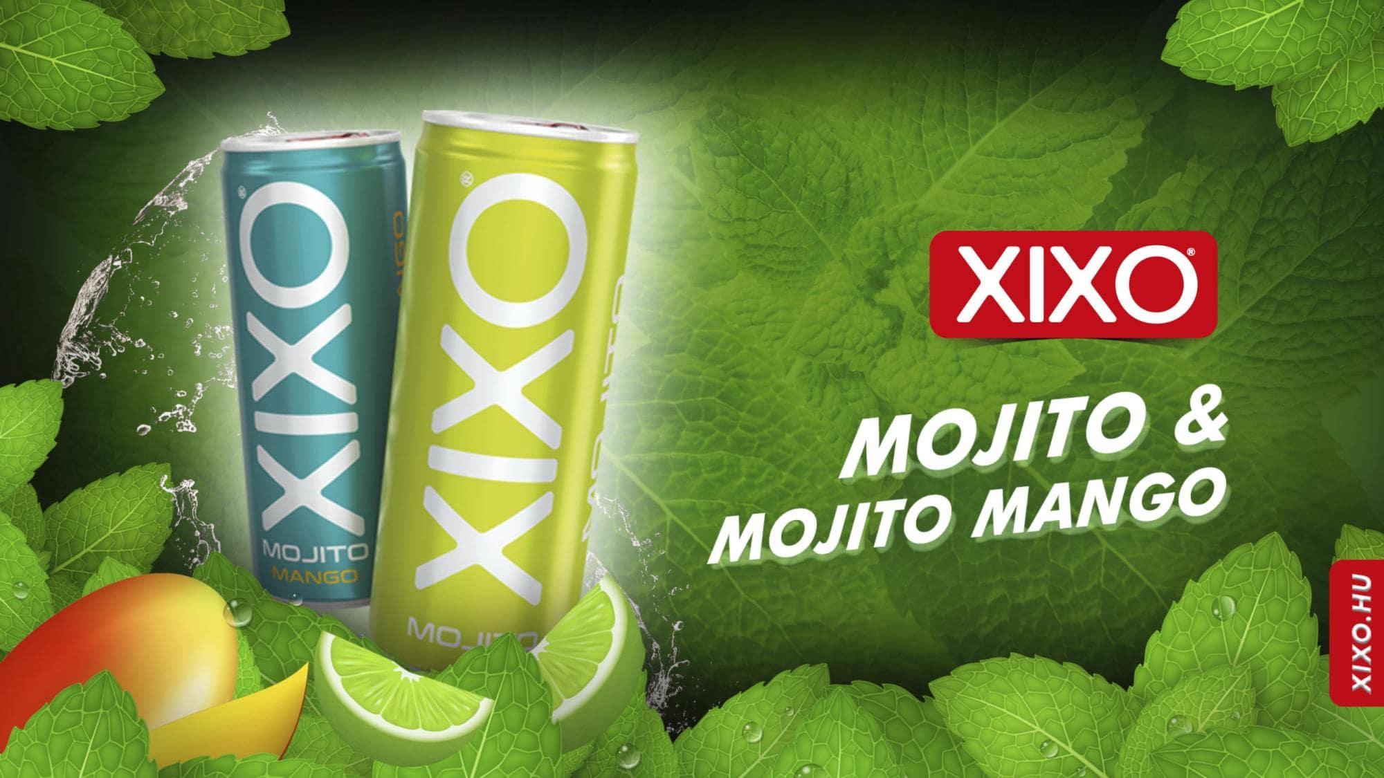 A legújabb Mojito és Mojito - Mangó ízesítésű XIXO