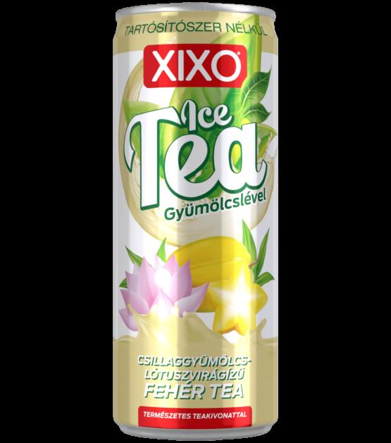 XIXO ICE TEA CSILLAGGYÜMÖLCS - LÓTUSZVIRÁG ÍZŰ FEHÉR TEA