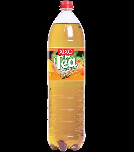 XIXO ICE TEA ŐSZIBARACKOS FEKETE TEA ZERO 1,5L